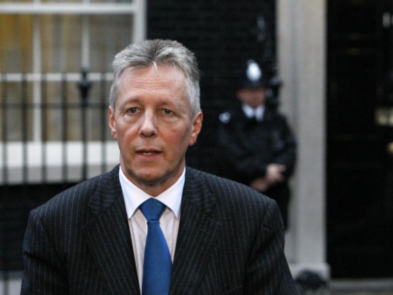 Peter Robinson (Luke MacGregor/Reuters)
