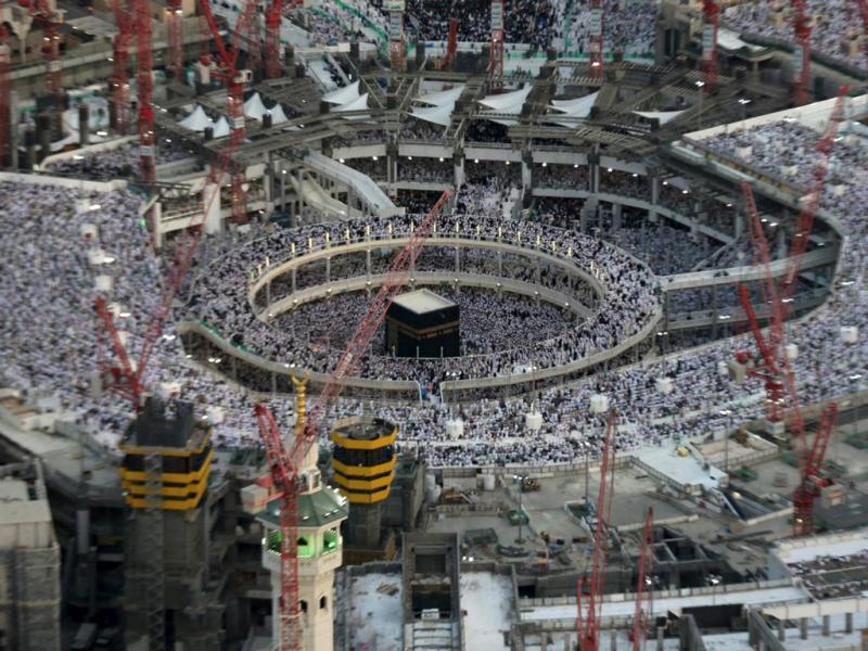 Grande mesquita de Meca (Ali Al Qarni/Reuters)