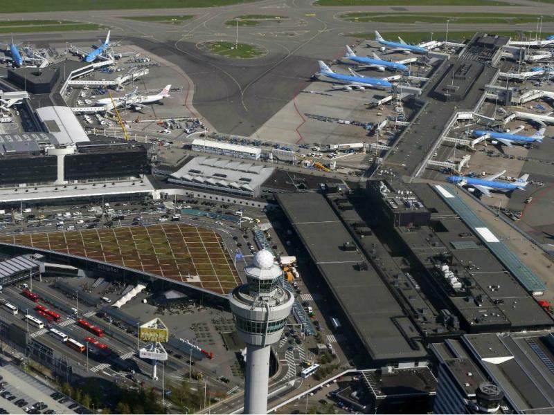 Aeroporto de Schiphol [Reuters]