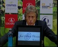 Jorge Jesus já pensa na Liga Europa, mas quer é vencer o campeonato nacional
