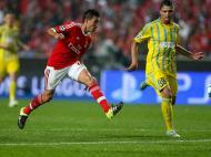 Benfica-Astana (Lusa)