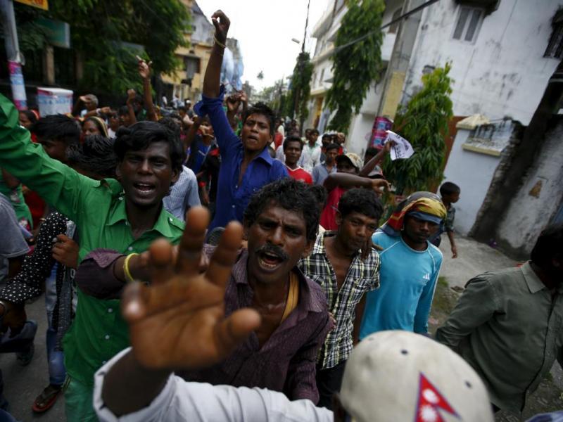 Manifestação no Nepal (Reuters/Navesh Chitrakar)