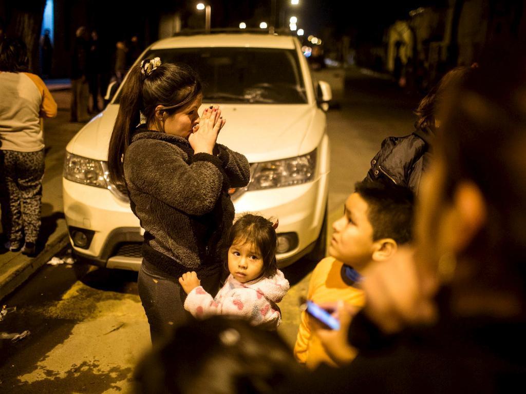 Sismo no Chile [Reuters]