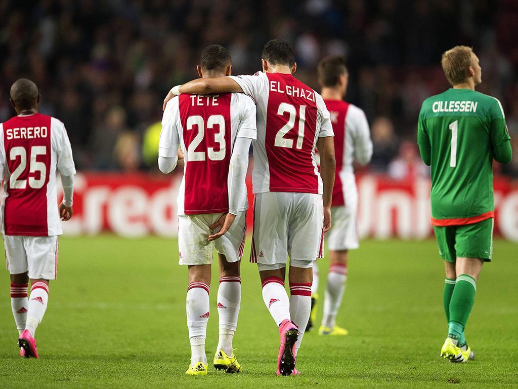 Ajax vs Celtic (EPA)