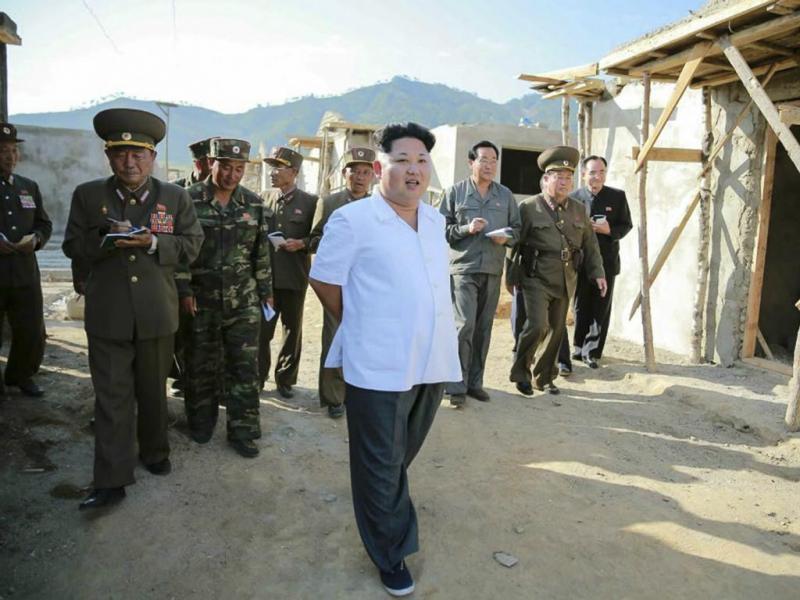 Kim Jong-un (EPA/Rodong Sinmun)