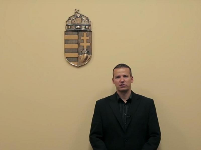 Laszlo Toroczkai (Reprodução/Youtube)