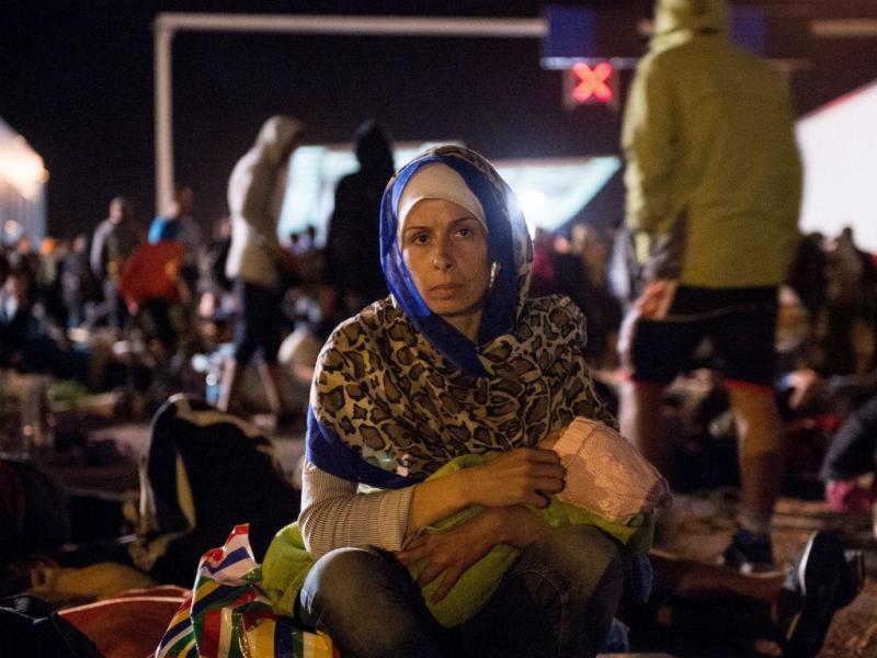 Refugiados na Eslovénia