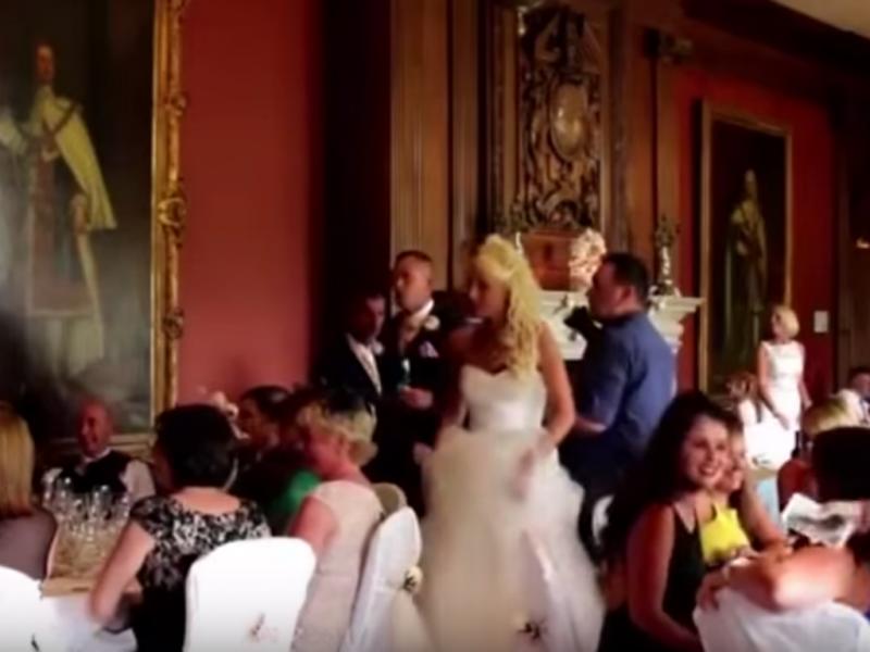 Noivo prega partida à mulher no dia do casamento