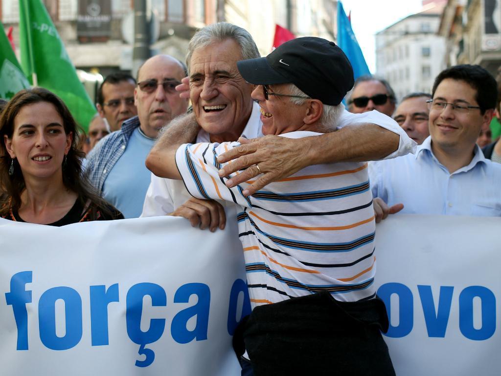 CDU em campanha no Porto (Estela Silva/Lusa)