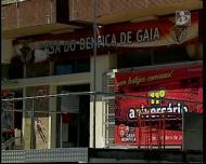 Casa do Benfica em Vila Nova de Gaia foi vandalizada