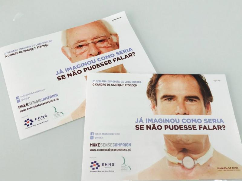 Campanha de sensibilização pela prevenção do cancro de cabeça e pescoço