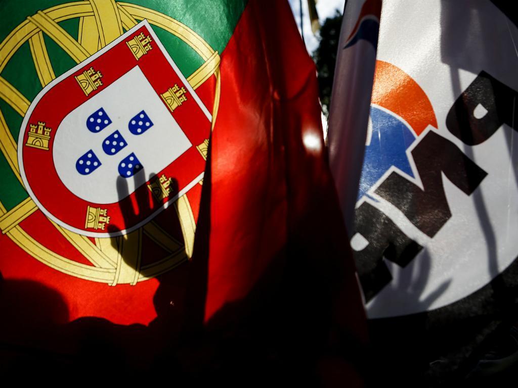Manifestação do PNR contra a entrada de refugiados em Portugal