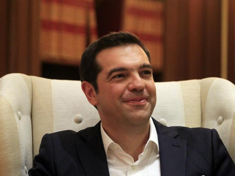 Tomada de posse de Alexis Tsipras