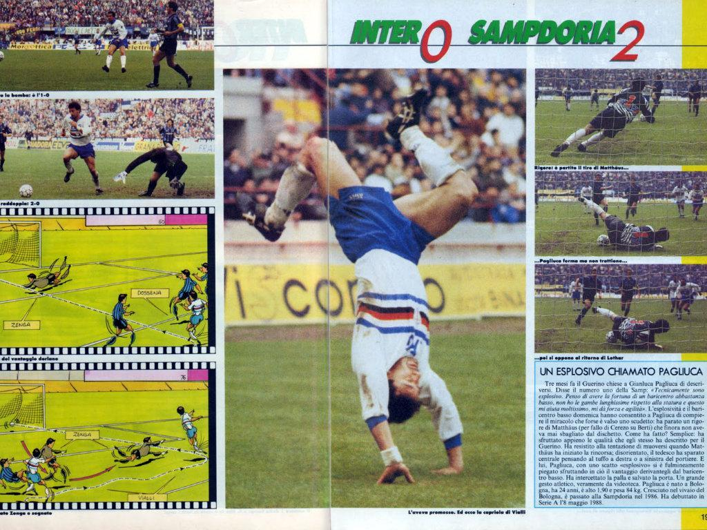 Inter-Sampdoria, 1991