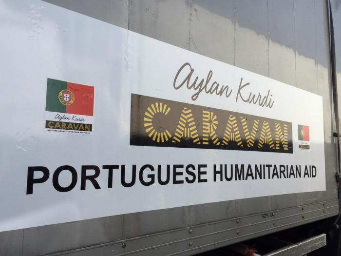 Refugiados: comboio humanitário português chega à fronteira da Eslovénia com a Croácia