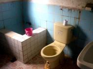 Um WC no Tour de Timor - não utilizar