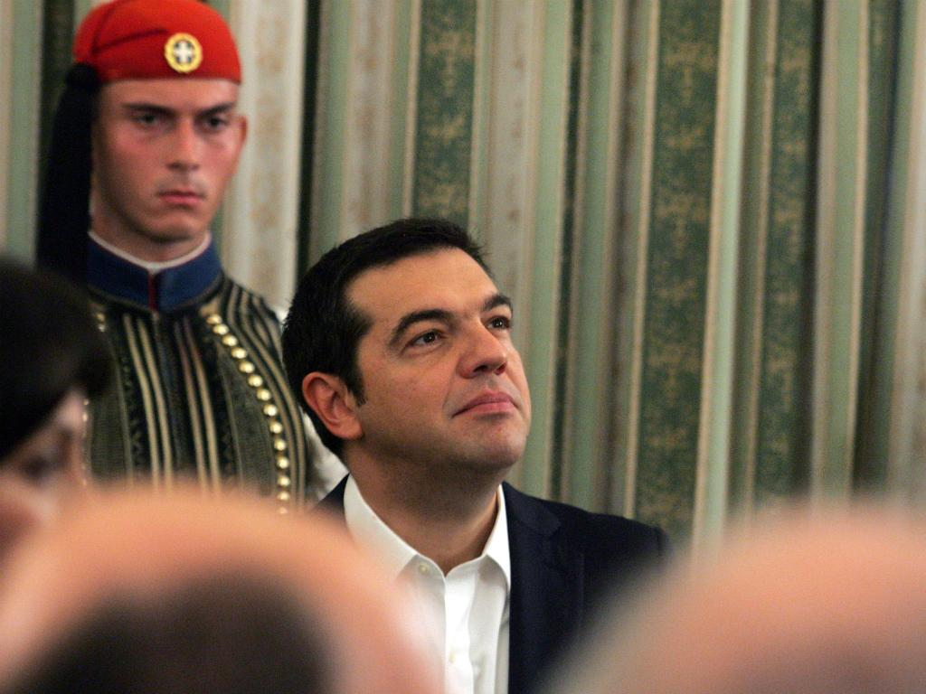 Tomada de posse do governo grego