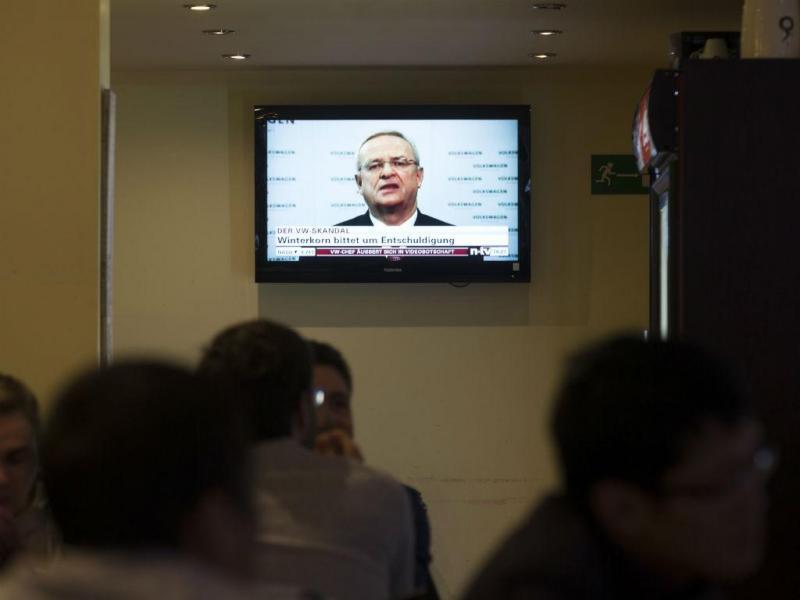 Martin Winterkorn demite-se de CEO da Volkswagen