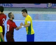 Portugal perde com o Brasil no Arena Castelão