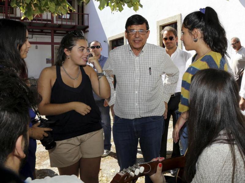 Garcia Pereira em campanha na Beira Interior