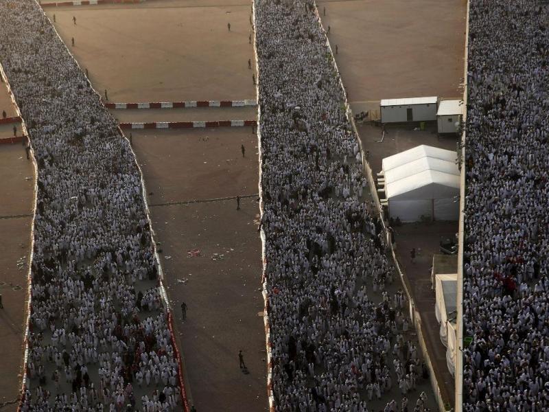 Meca: morrer no caminho da fé