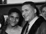 Eusébio com Leo Horn