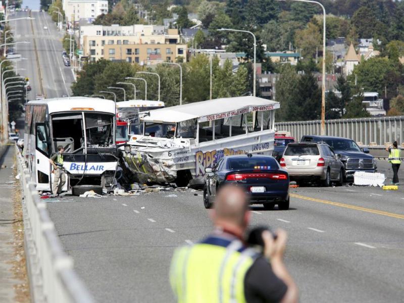 Acidente em Seattle faz 4 mortos (REUTERS)