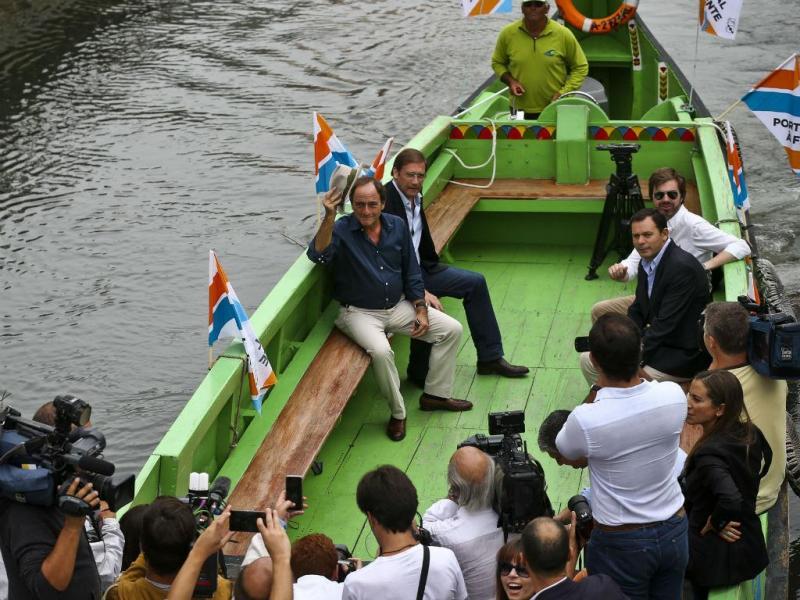Passos Coelho e Paulo Portas em Aveiro