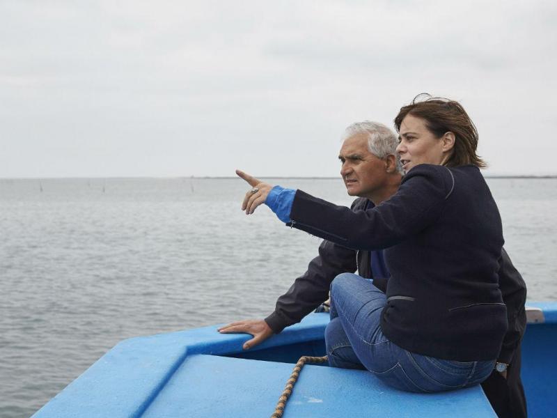 Catarina Martins fez campanha no Algarve