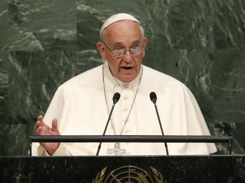 Papa Francisco discursa na Assembleia das Nações Unidas