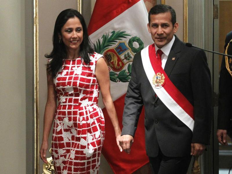 Presidente e primeira-dama do Peru