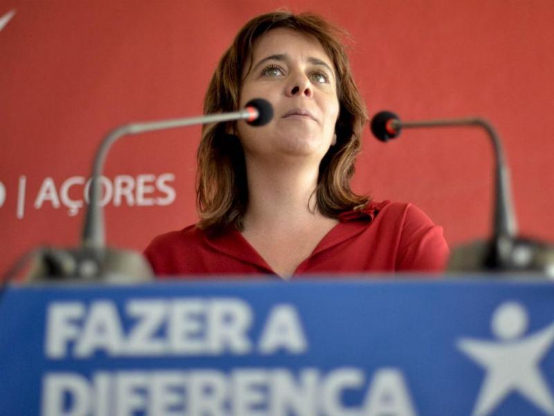 Catarina Martins em campanha nos Açores [Lusa]