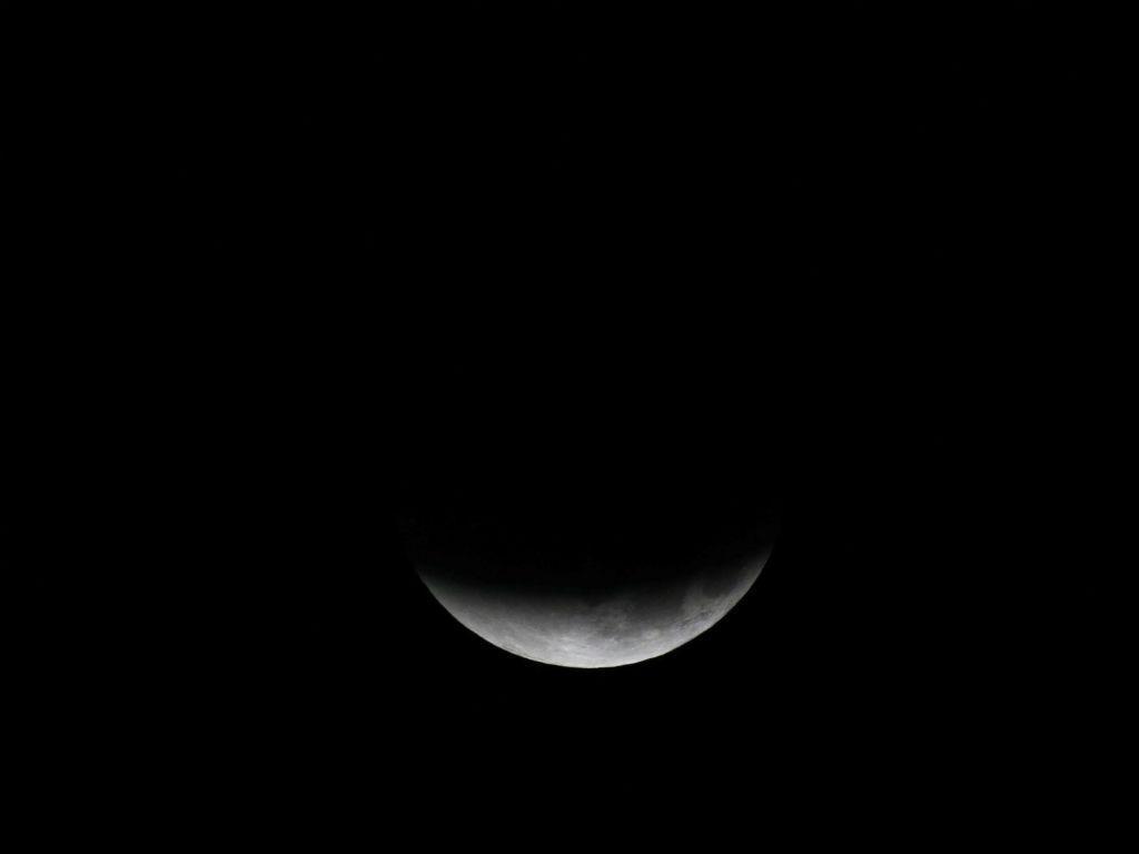 Eclipse total da Superlua