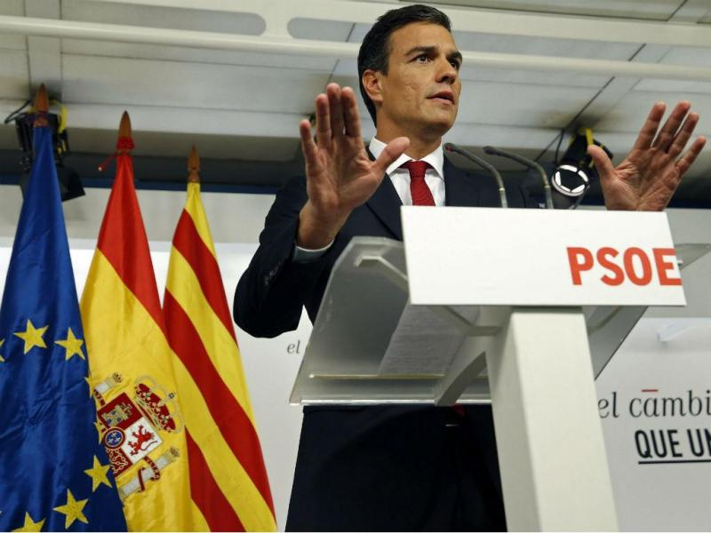 Pedro Sanchez, PSOE