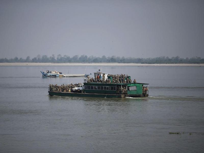 Rio Brahmaputra, Índia