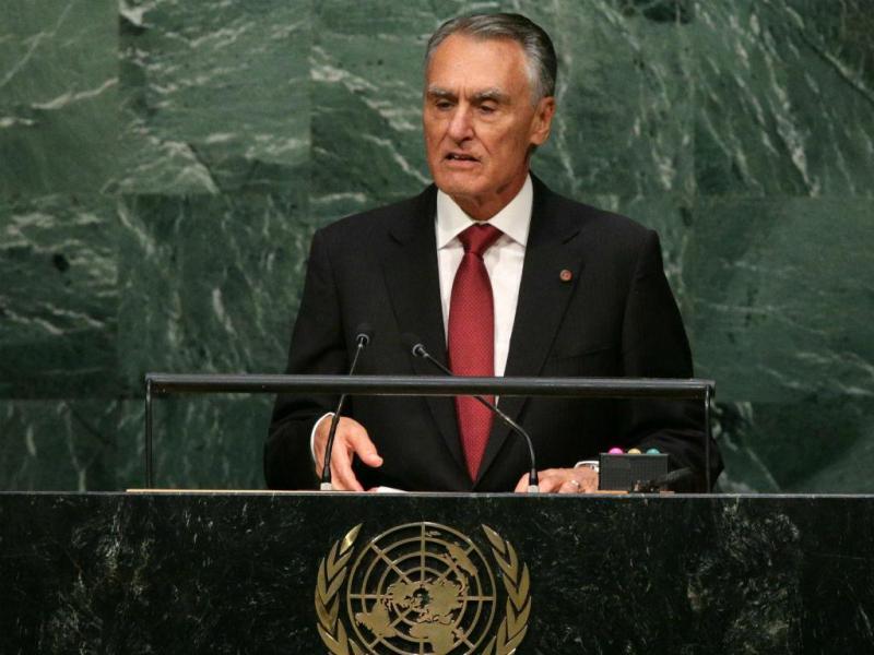 Cavaco Silva na ONU [Lusa]