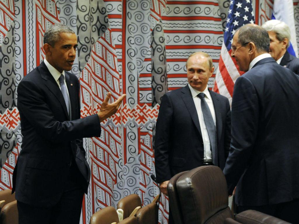 Obama e Putin juntos na 70ª Assembleia Geral das Nações Unidas