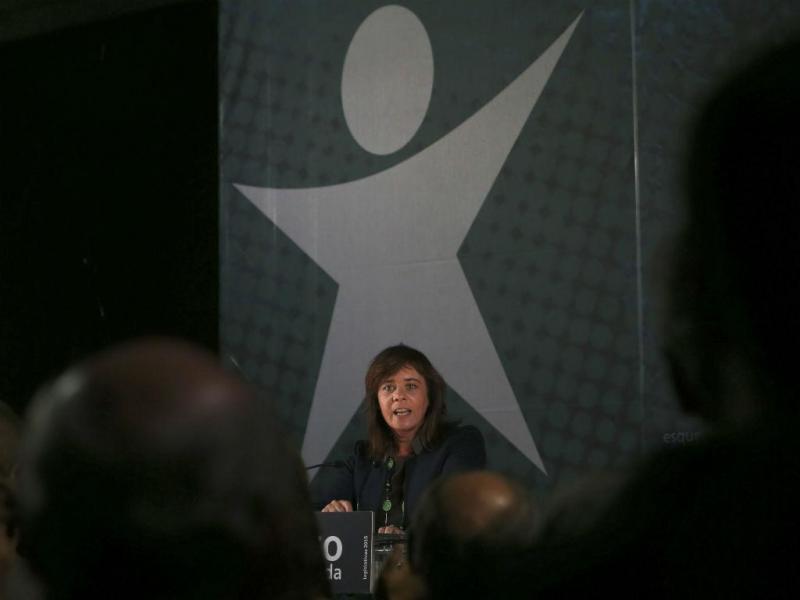 Catarina Martins passou por Coimbra