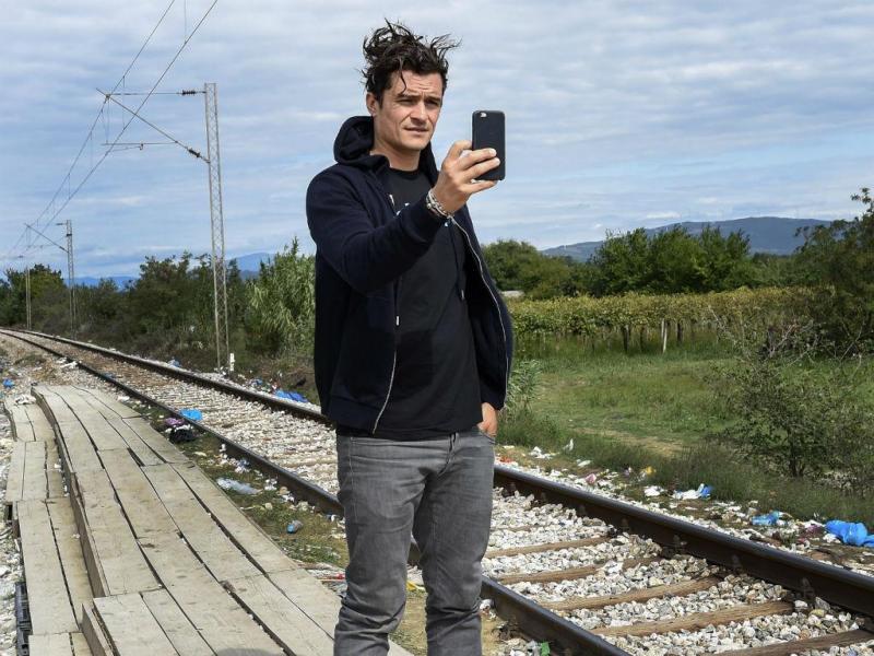 Orlando Bloom, na Macedónia