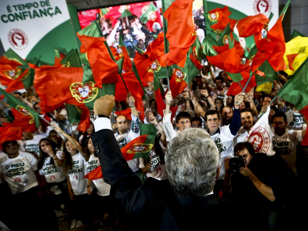 Comício do PS em Lisboa [Lusa]