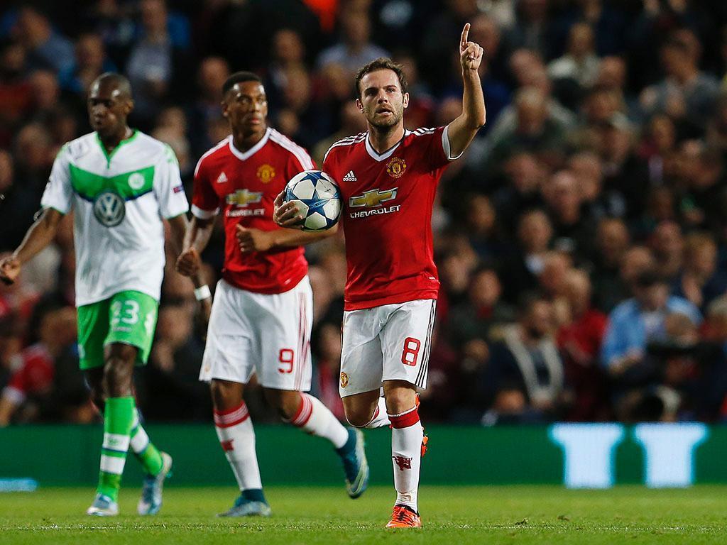 Manchester United-Wolfsburg (Reuters)