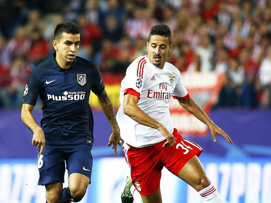 Atlético de Madrid-Benfica (Lusa)