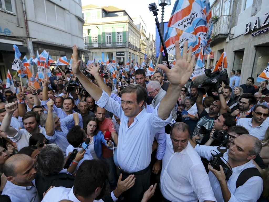 Coligação em campanha no Porto