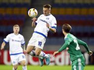 Dinamo Minsk-Rapid Viena (Lusa)