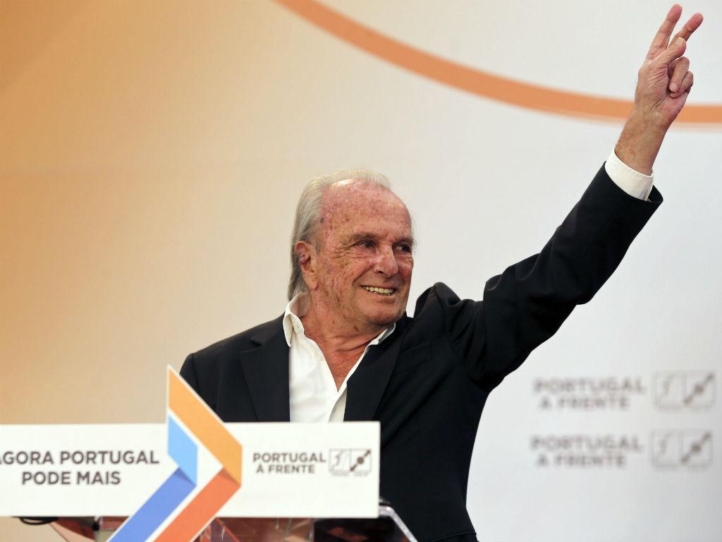Pinto Balsemão na campanha da coligação