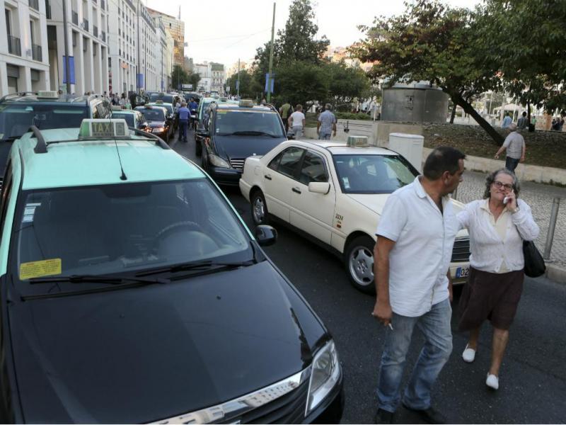 Manifestação de taxistas