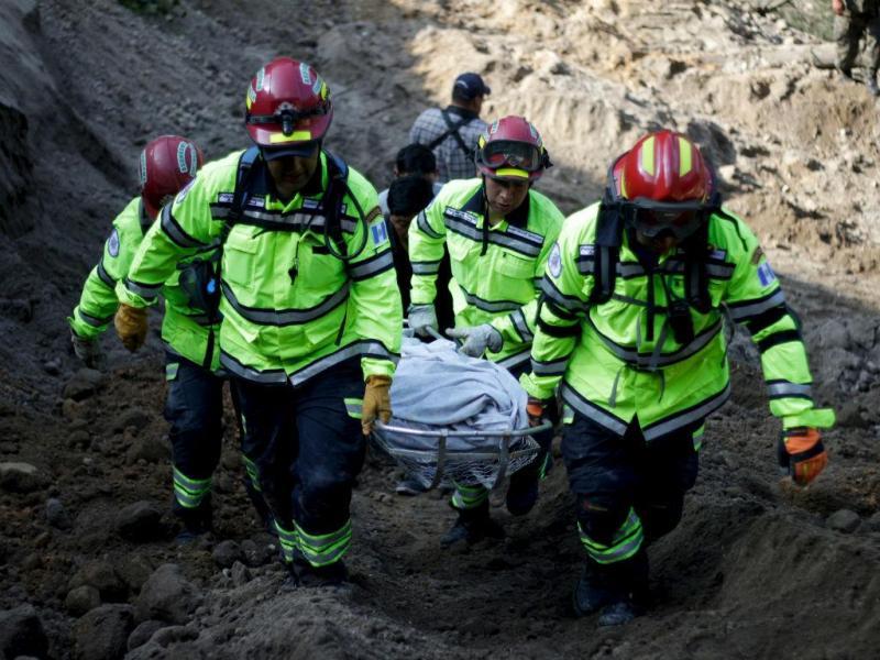 Deslizamento de terras na Guatemala