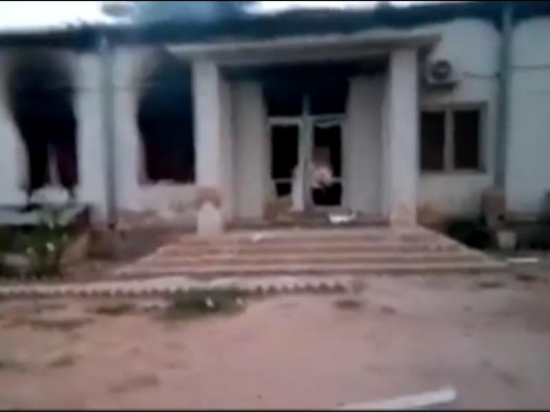 Ataque aéreo ao hospital dos Médicos Sem Fronteiras, na cidade de Kunduz