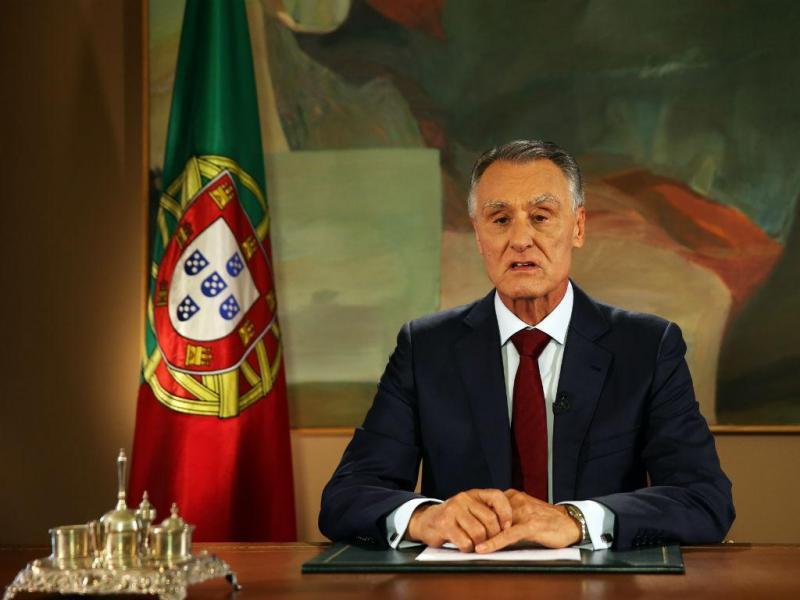 Cavaco Silva faz declaração ao país (LUSA)