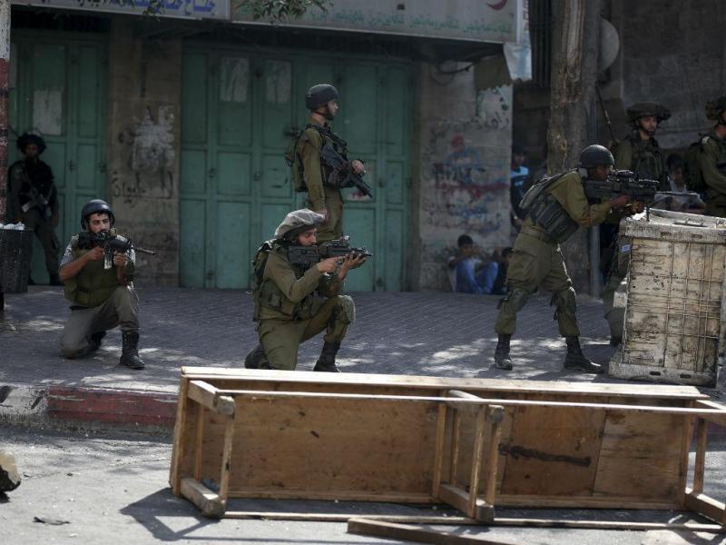 Mais de 100 feridos na Cisjordânia